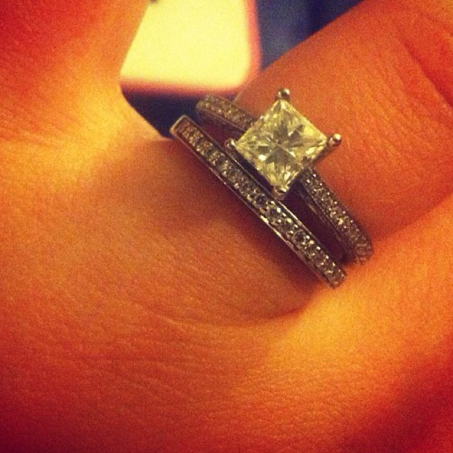Well hey there pretty ring.
