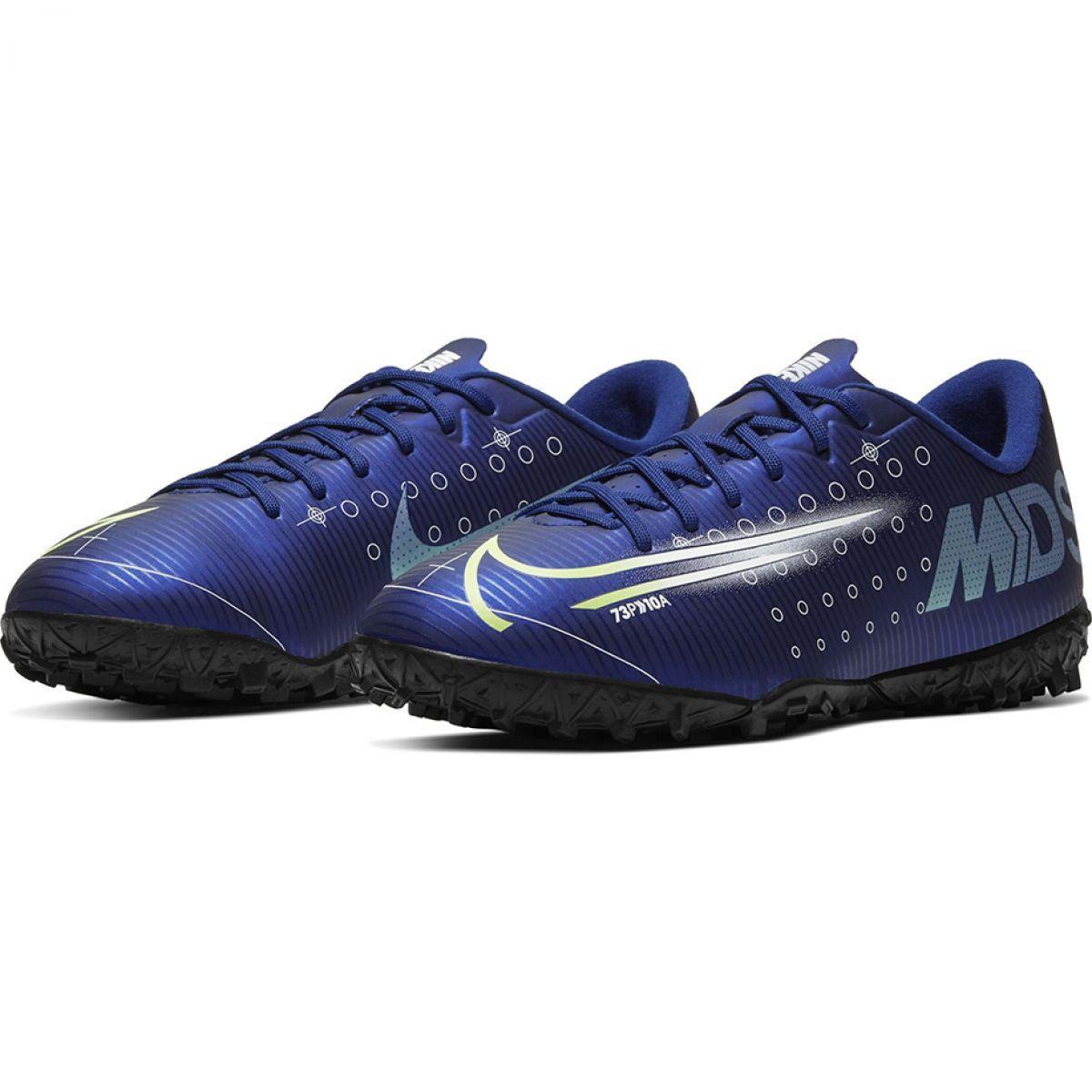 Buty Pilkarskie Nike Mercurial Vapor 13 Academy Mds Tf M Cj1306 401 Granatowe Granatowe Astro Turf Trainers Kids Football Boots Football Boots Astro