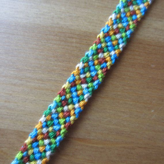 Fall colored Friendship Bracelet