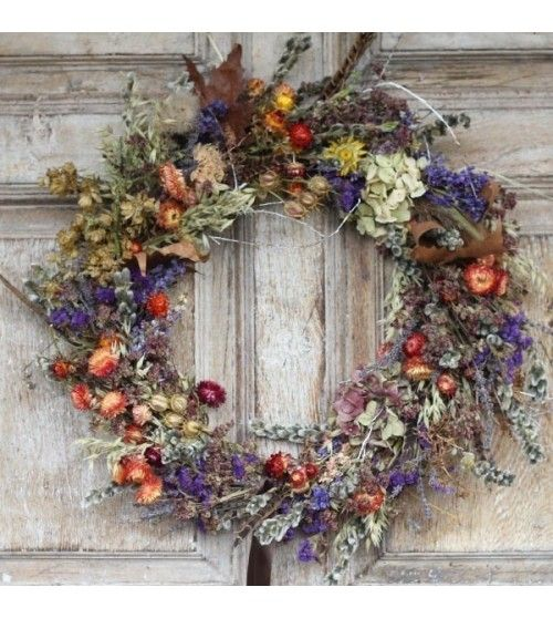 Photo of Vintage Country – Dried Flower Wreath