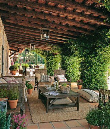 Resultado de imagen para porches rusticos porches for Terrazas decoracion rusticas
