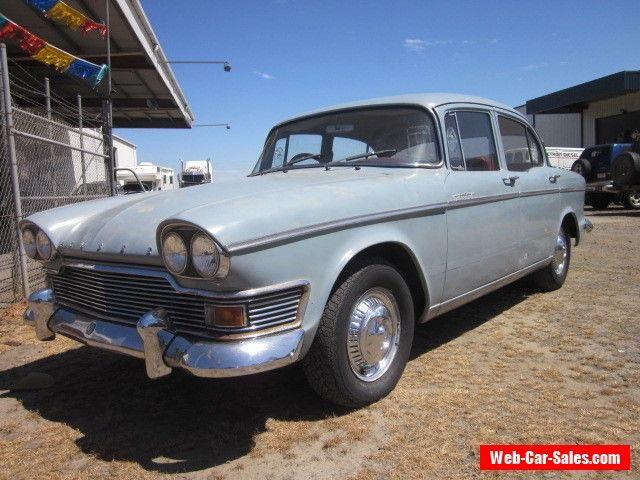 Car For Sale Barn Find 1962 Humber Super Snipe Series 3