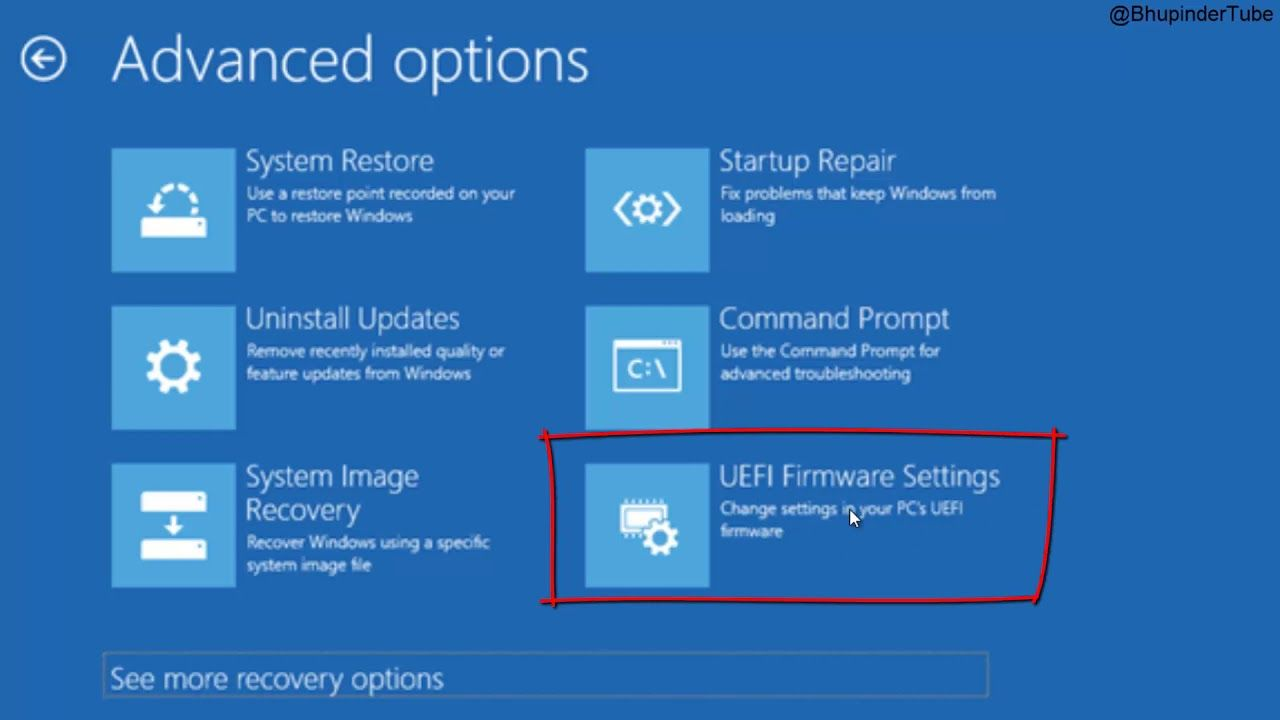 How To Access Bios In Windows 10 In 2020 System Restore Windows