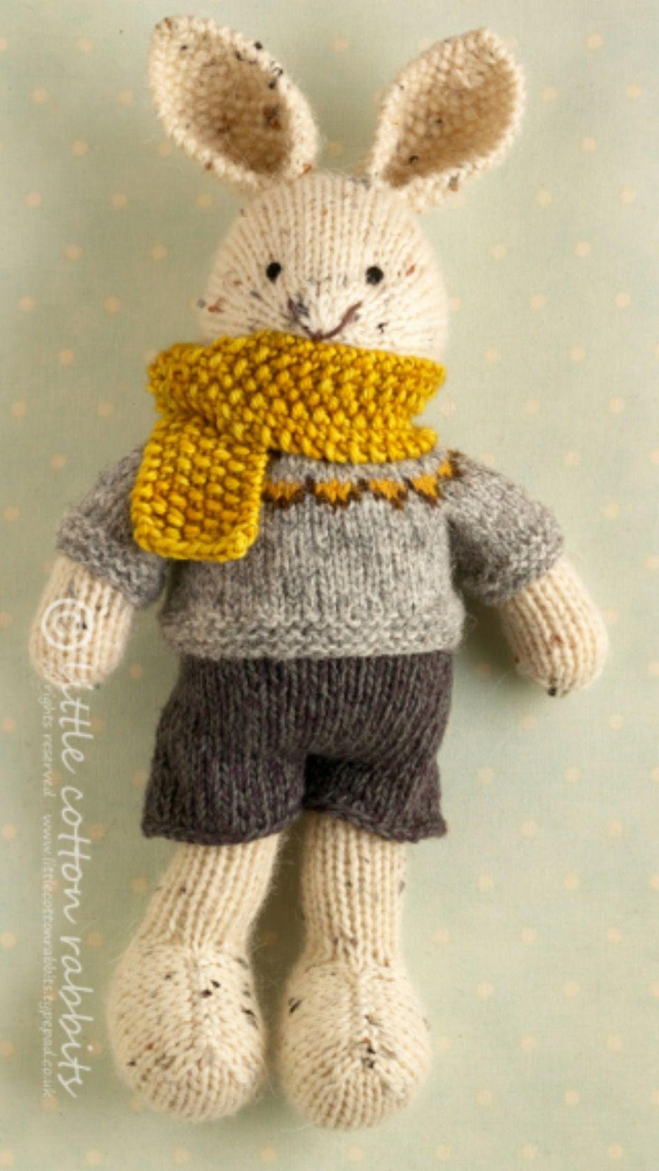 Littlecottonrabbits | Animals to knit and crochet | Pinterest ...