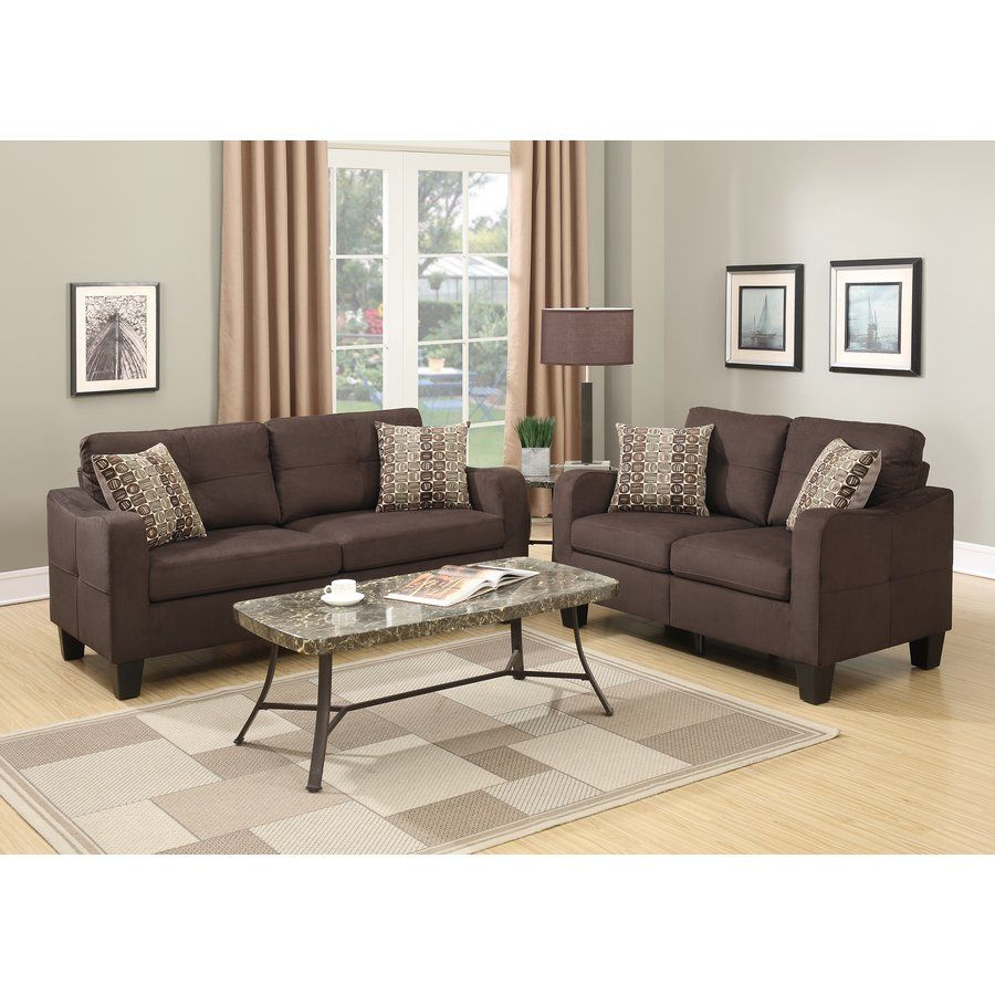 Beau Bobkona Spencer 2 Piece Living Room Set