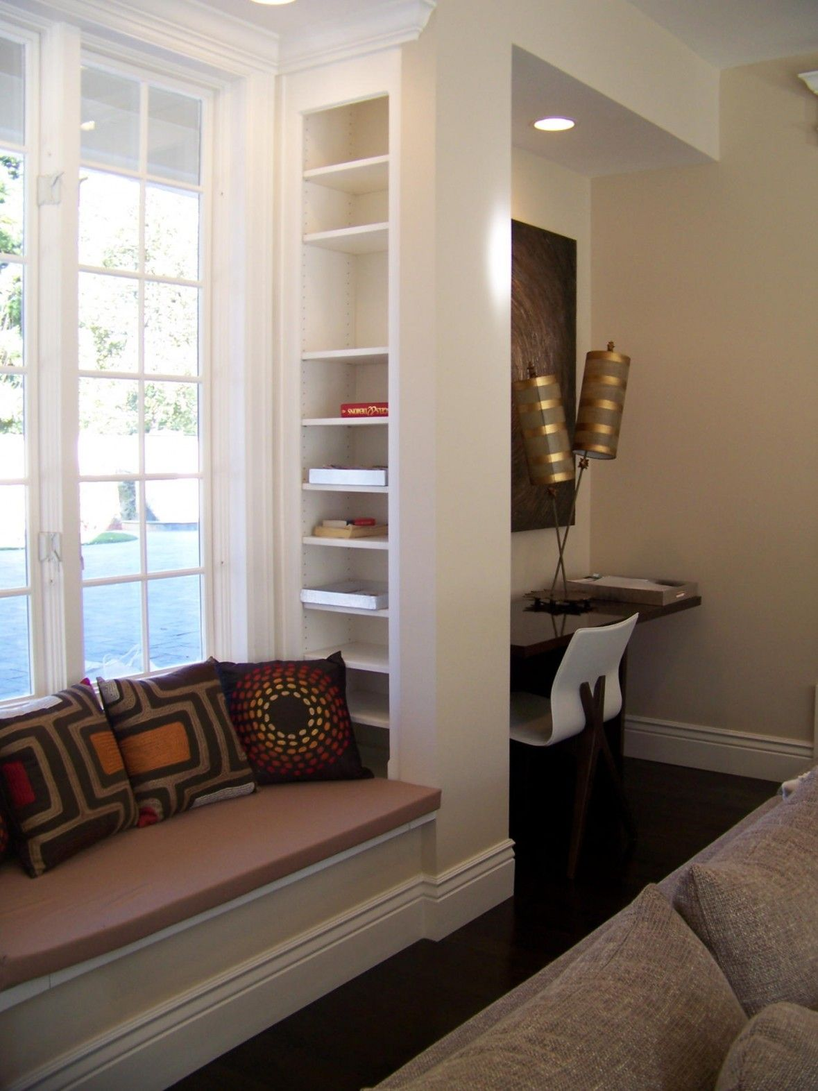 Pin by Julie Beasley on Living rooms Window seat design