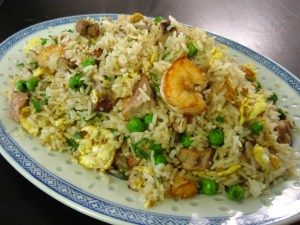This is Ed's favourite fried rice dish, so we order it often but it's really simple to make. Note that fried rice is always supposed to be made with day old rice, because the moisture from fresh r...