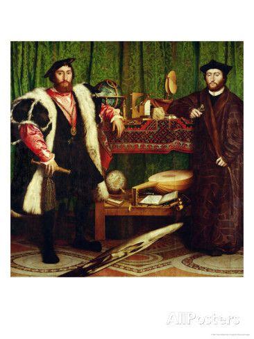 The Ambassadors (Holbein) - Wikipedia