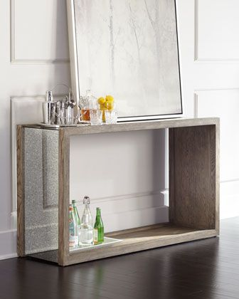Crowell Console Table Home Decor Mirrored Console Table Home Decor Furniture