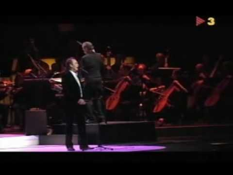 Joan Manuel Serrat Bendita Musica Sinfónico Singer Concert Wrestling