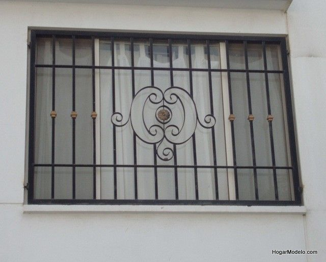 Modelos de herreria para ventanas rejas pinterest for Ventanas modelos