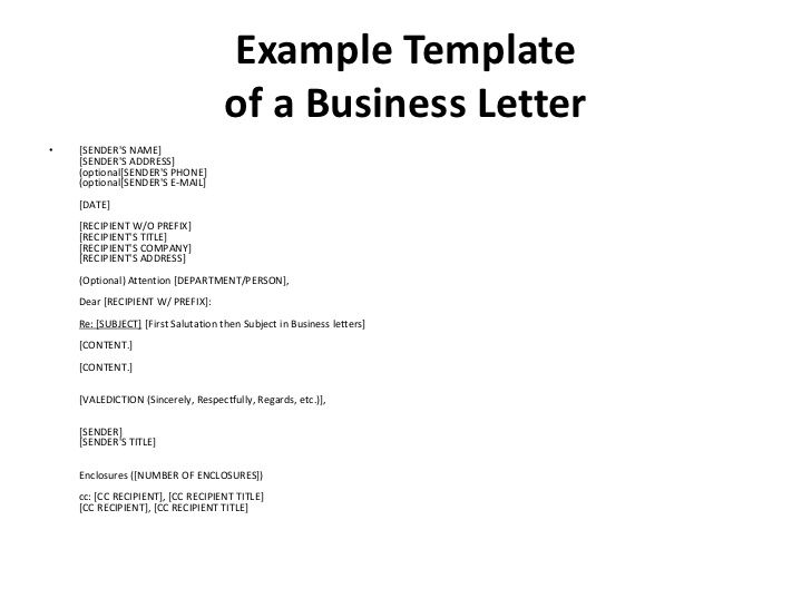 Business English First Meeting Attn Letter Format Best Template