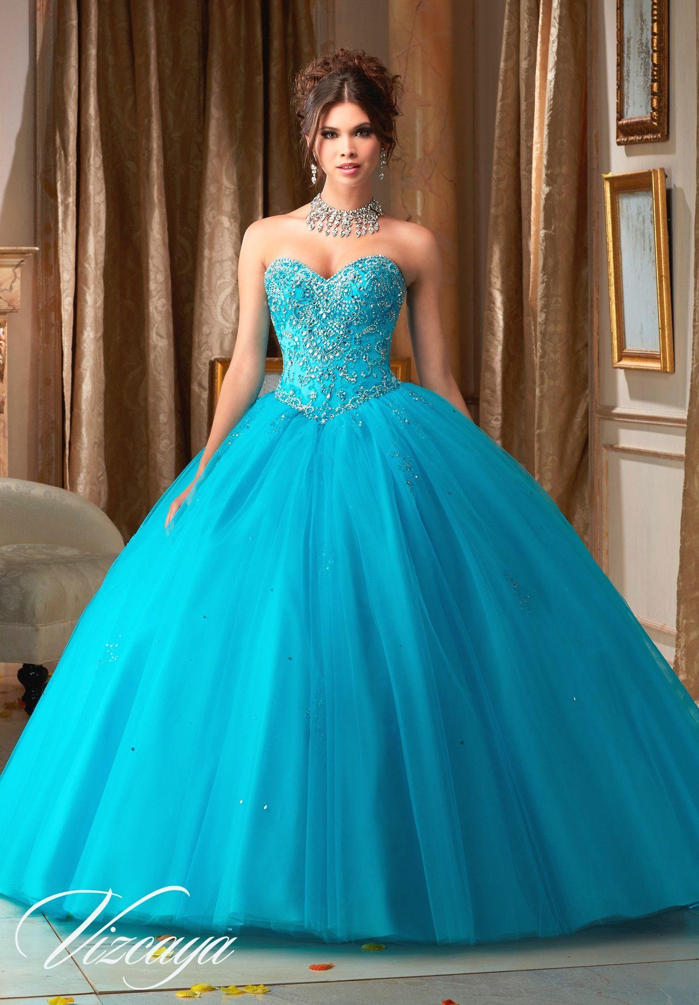 Mori Lee Quinceanera Dress 89109 | Kleider mode, Kleider und Mode