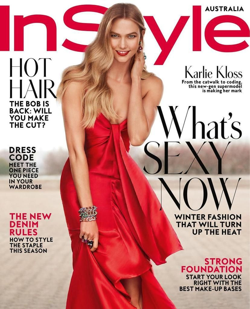 Karlie Kloss for InStyle Australia - August 2017