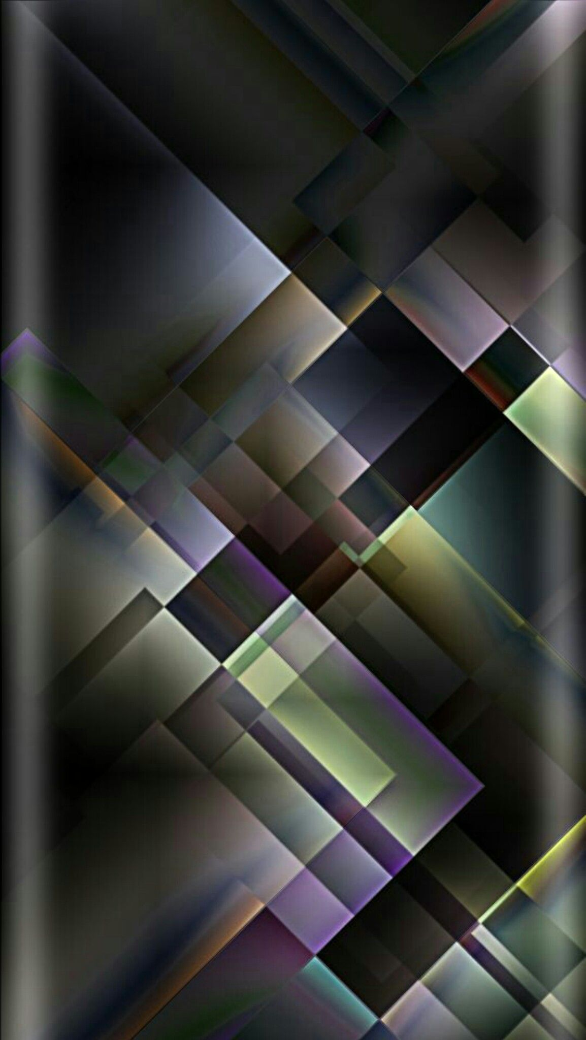 grey and green geometric abstract wallpaper | *abstract and