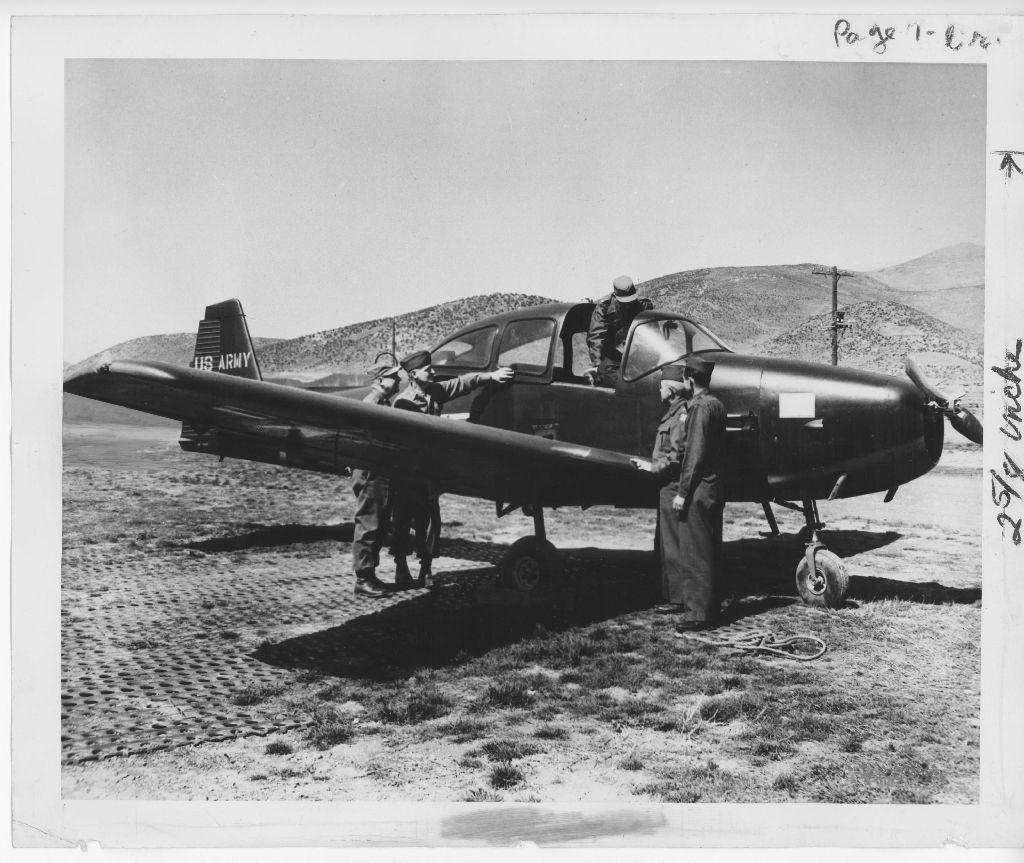 04-01861 Ryan L-17 Navion c  1949 | Navion | Us military