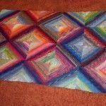 Dicke Decke aus Sockenwollresten – Strick – Ideen