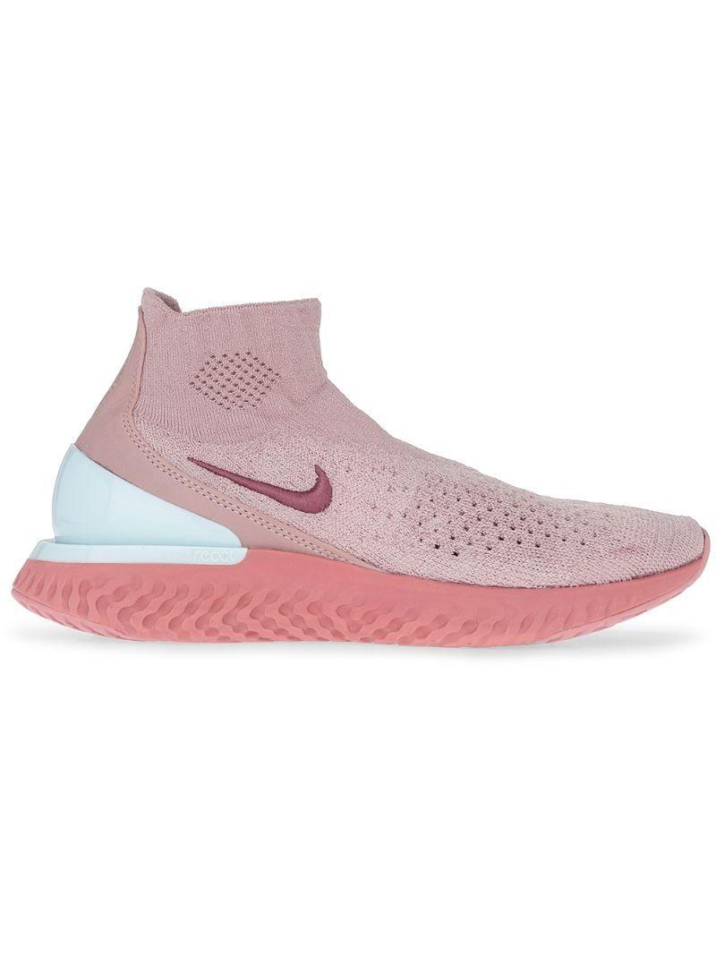 Nike Rise React Flyknit sneakers - Pink