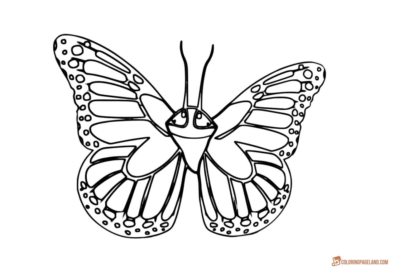 Butterfly Coloring Pages Print Or Download For Free Butterfly Printable Butterfly Coloring Page Coloring Pages [ 870 x 1280 Pixel ]