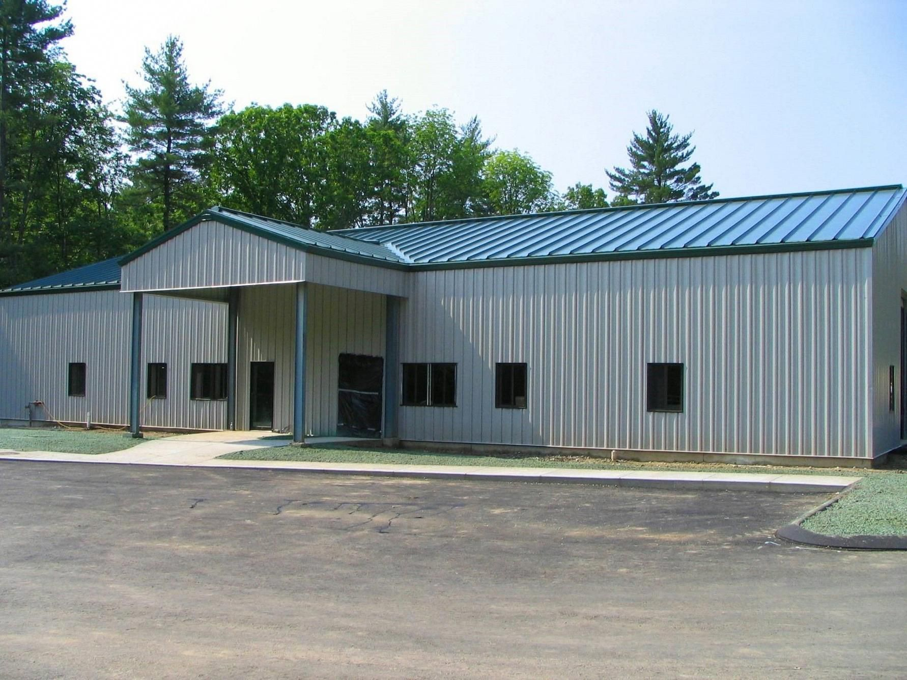 See These Metal Buildings With Carport Attachments