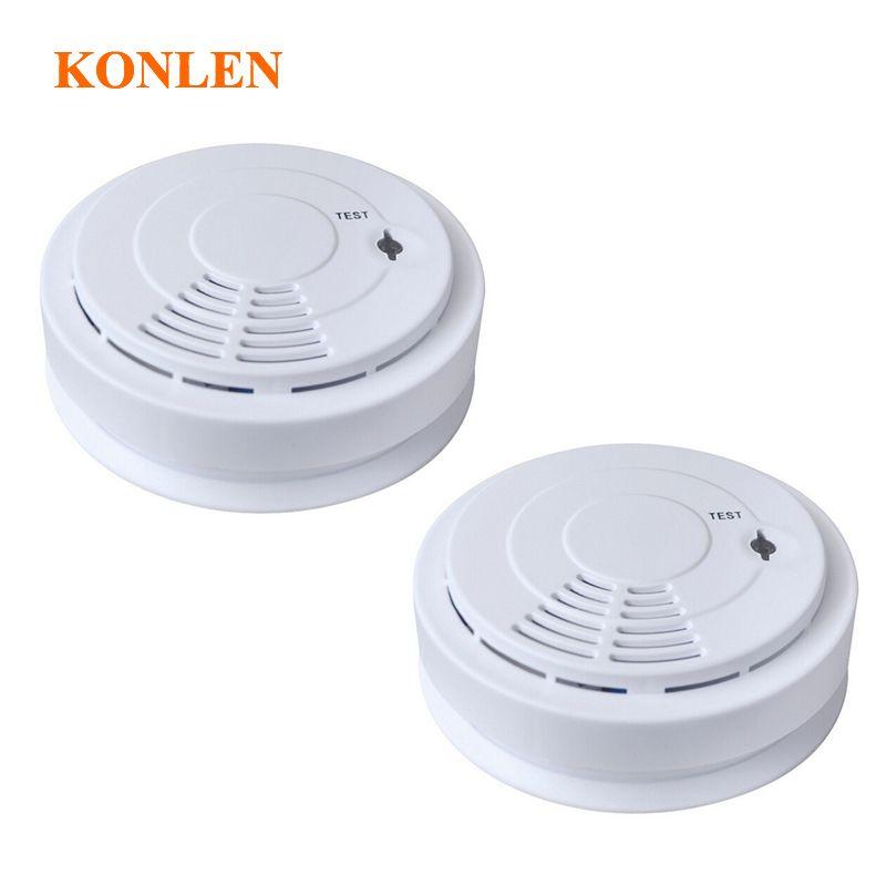 Neue Drahtlose Rauchmelder 433 Für Home Security Alarmanlage, Kostenloser  Versand Wireless Sensor Rauch Feuer 2