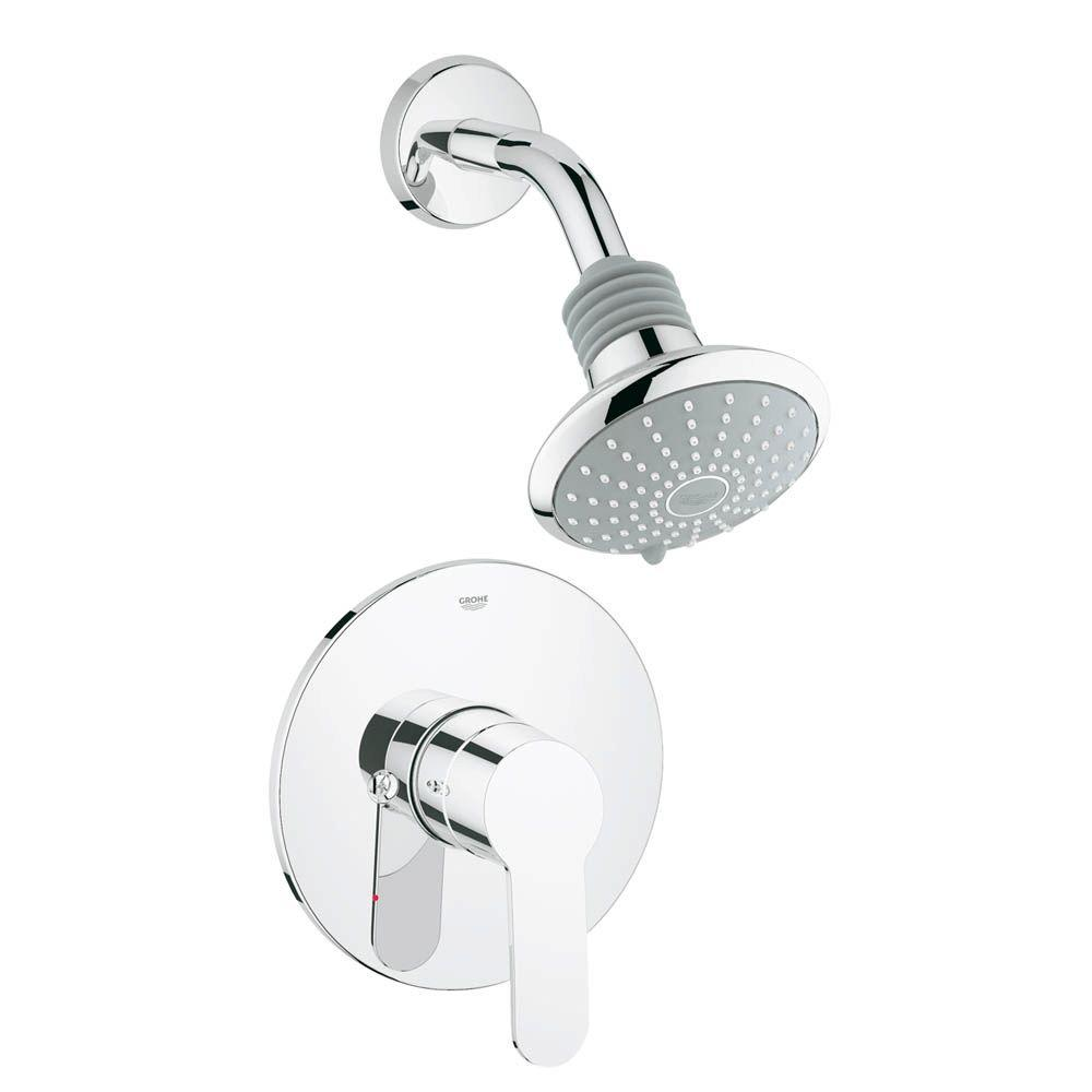 Grohe Eurostyle Cosmopolitan 1 Handle Shower And Valve Trim Kit In