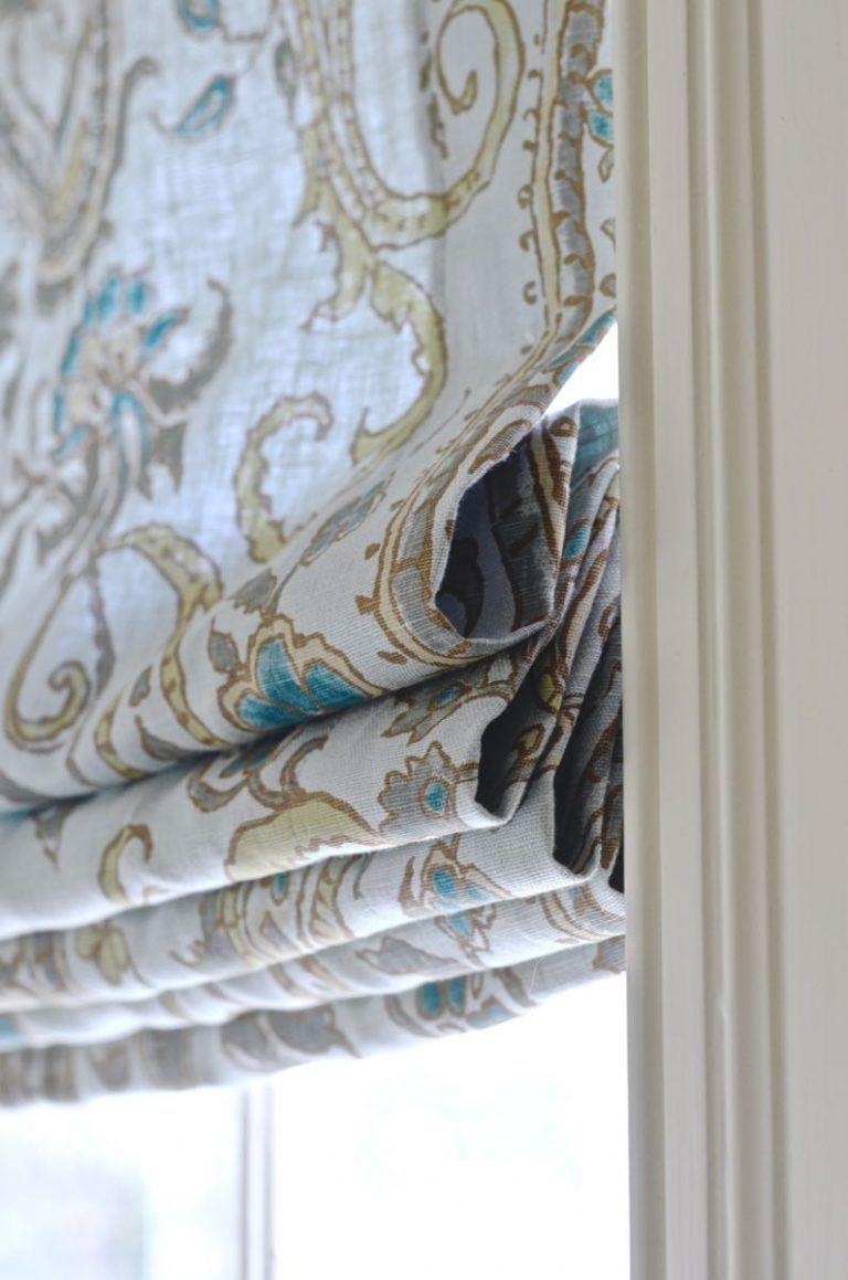 Kitchen window roman blinds  roman shades   house  pinterest  roman window and window
