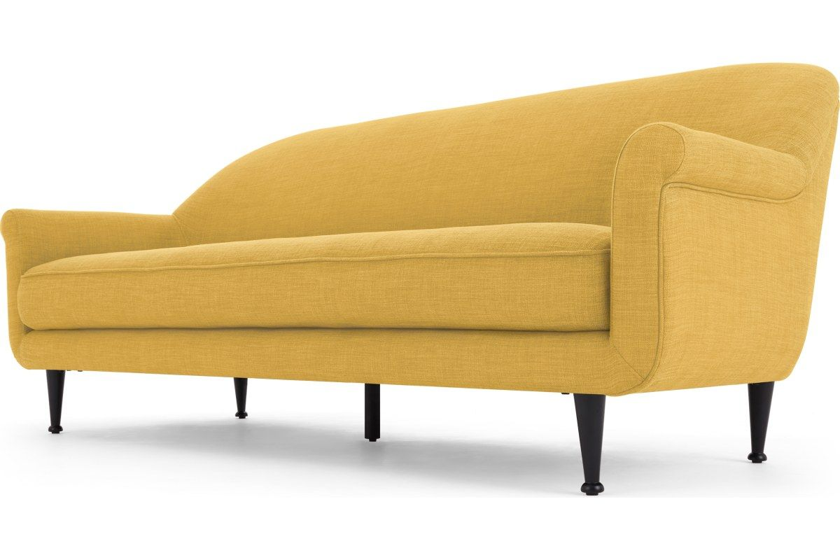 Jaina 3 Sitzer Sofa Mikadogelb Made Com With Images 3 Seater Sofa Sofa Seater Sofa