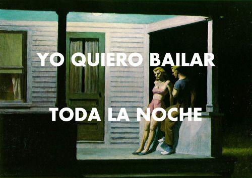 Edward Hopper - Summer Evening (1947) // Sonia y Selena - Yo Quiero Bailar (2001)