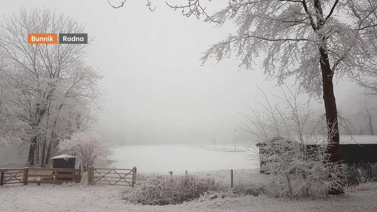 Uitsneeuwende mist en rijp op de valreep van 2016! Voor 2017 is er ook een sprankje hoop op vriesweer!