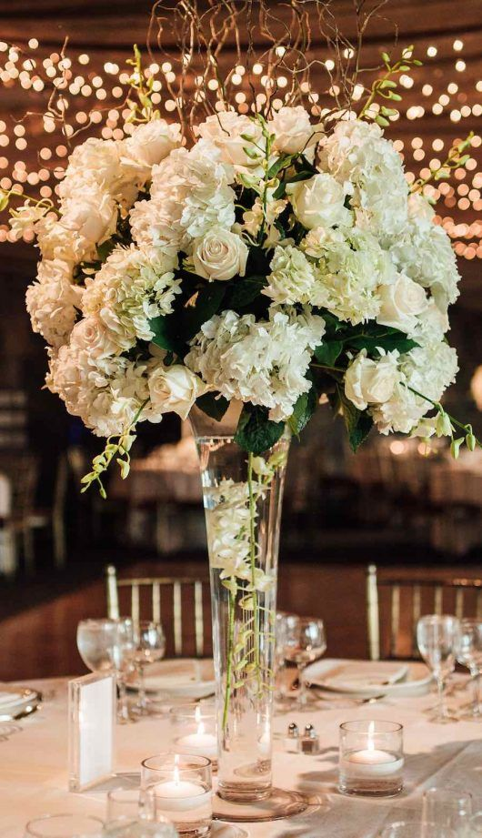 All White Elegant Wedding Wedding Ideas Pinterest Wedding