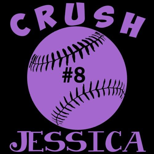 Personalized Girls Softball Vinyl Car Decal Sticker Custom Car Decals Car Decals Vinyl Softball Decals