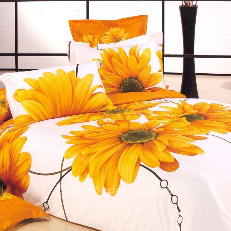Sunflower Bedding Set This Is So Cool Bedding Sets Sunflower Decor Comforter Duvet Cover