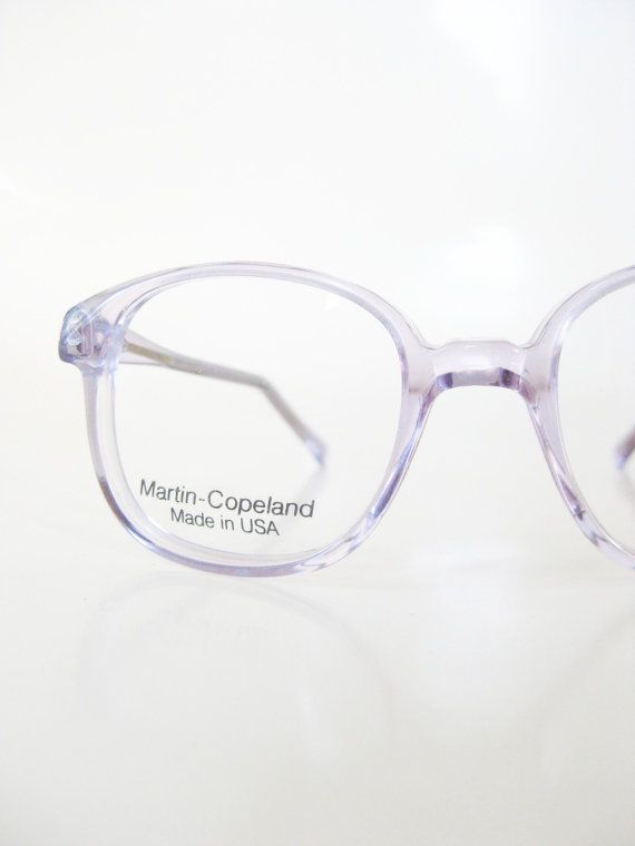 ce514cb98741 1980s Kids Pastel Purple Eyeglasses Childrens Eyeglasses Optical Frames  Light Lilac Clear Round P3 Glasses 80s Eighties Boys Girls Eighties