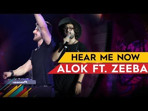 Alok Bruno Martini Feat Zeeba Hear Me Now Official Music