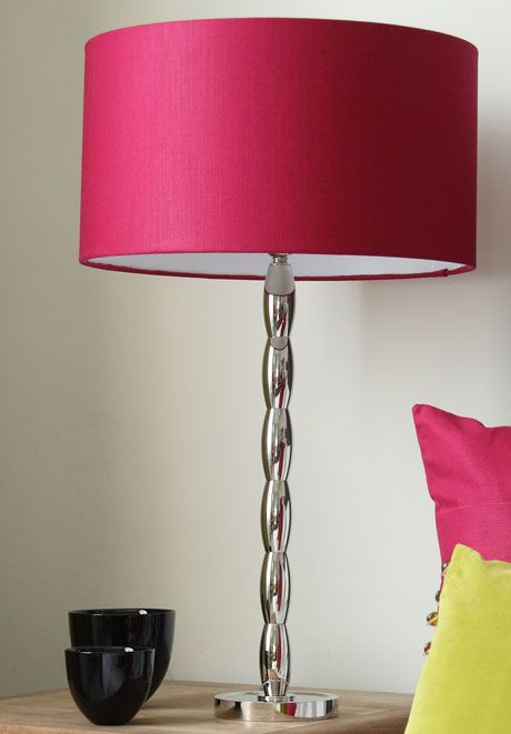 Lamp shade fuschia google search diy pinterest living rooms lamp shade fuschia google search mozeypictures Gallery