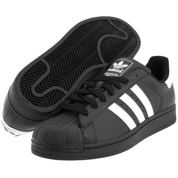 Adidas Originals Superstar 2 (blanco / negro) zapatos clasicos (300 GTQ