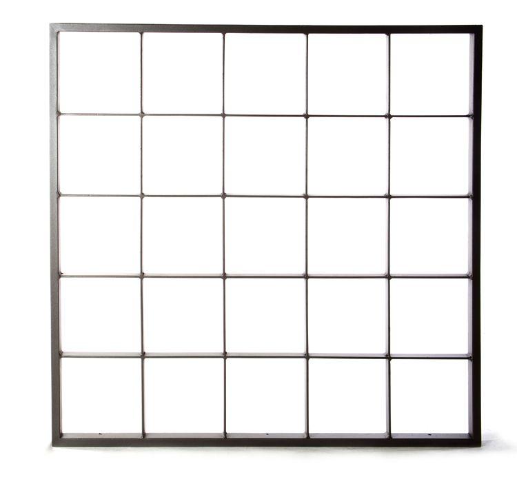 Reja de hierro de seguridad para ventanas modelo - Rejas de seguridad ...
