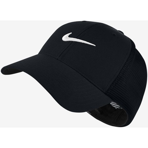 48be80b0aff Nike Legacy 91 Tour Mesh Fitted Golf Hat. Nike.com SE ❤ liked on ...