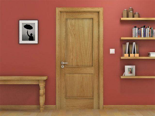 Solid Raised Panel Interior Doors