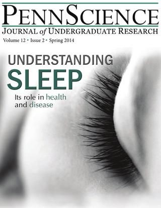 Pennscience Vol 12 Issue 2 Sleep