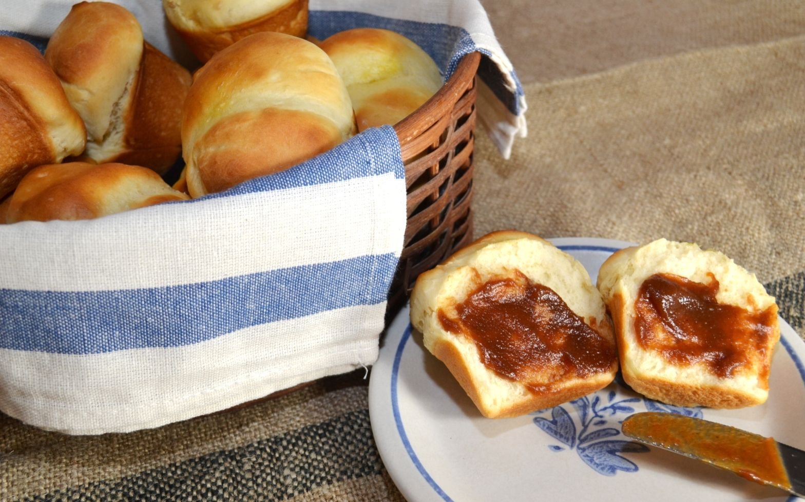 These yeast rolls are quick, soft, and delicious.  Take care when adding the salt, as it's added to the dough after it's been kneaded.  Enjoy!