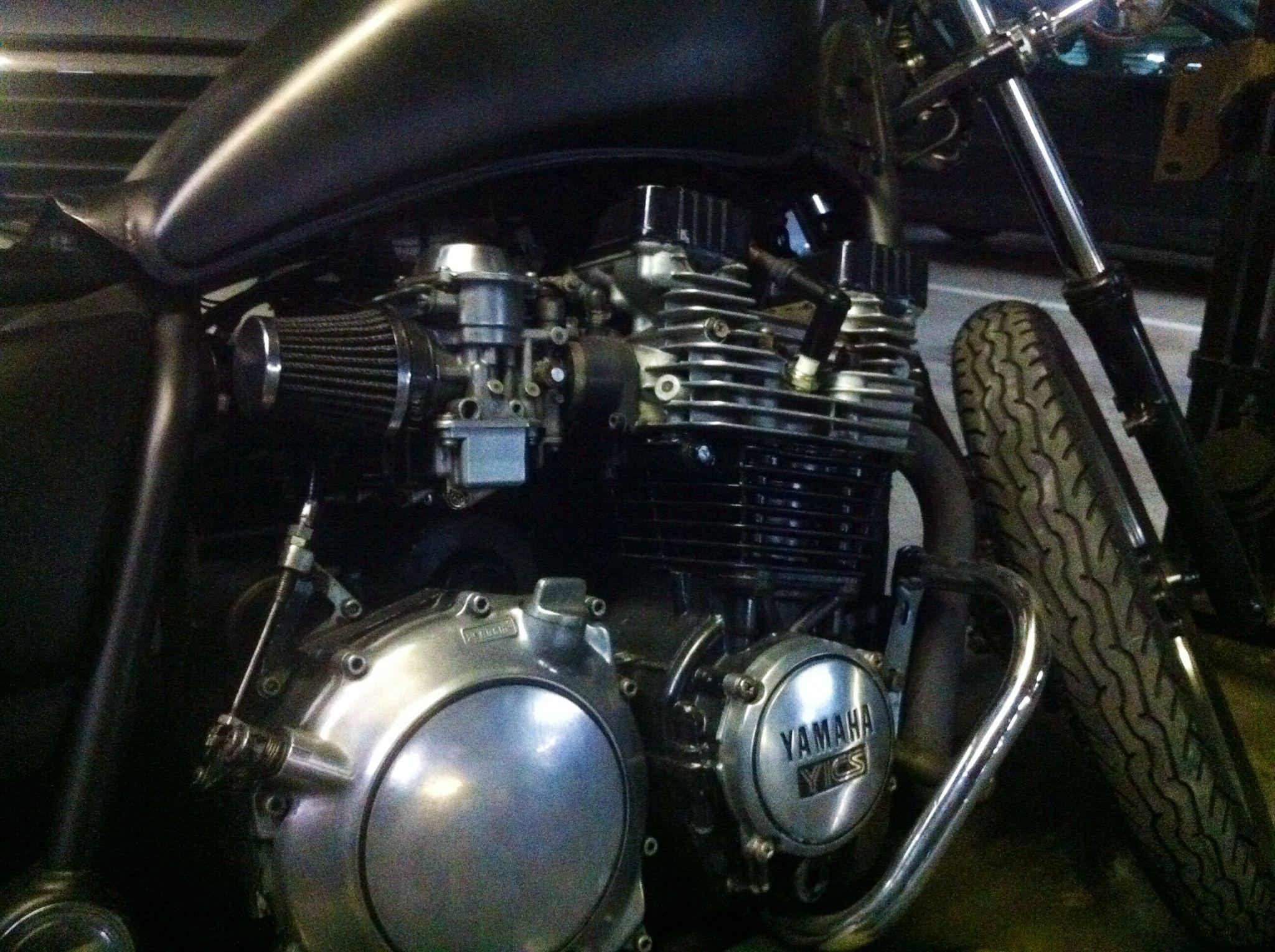 Yamaha project bobber