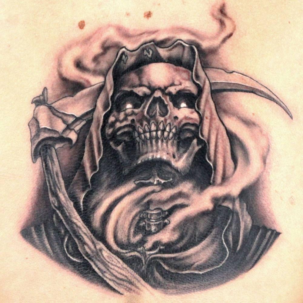Grim Reaper by Jason Clay Dunn TATTOO AMAZING TATS
