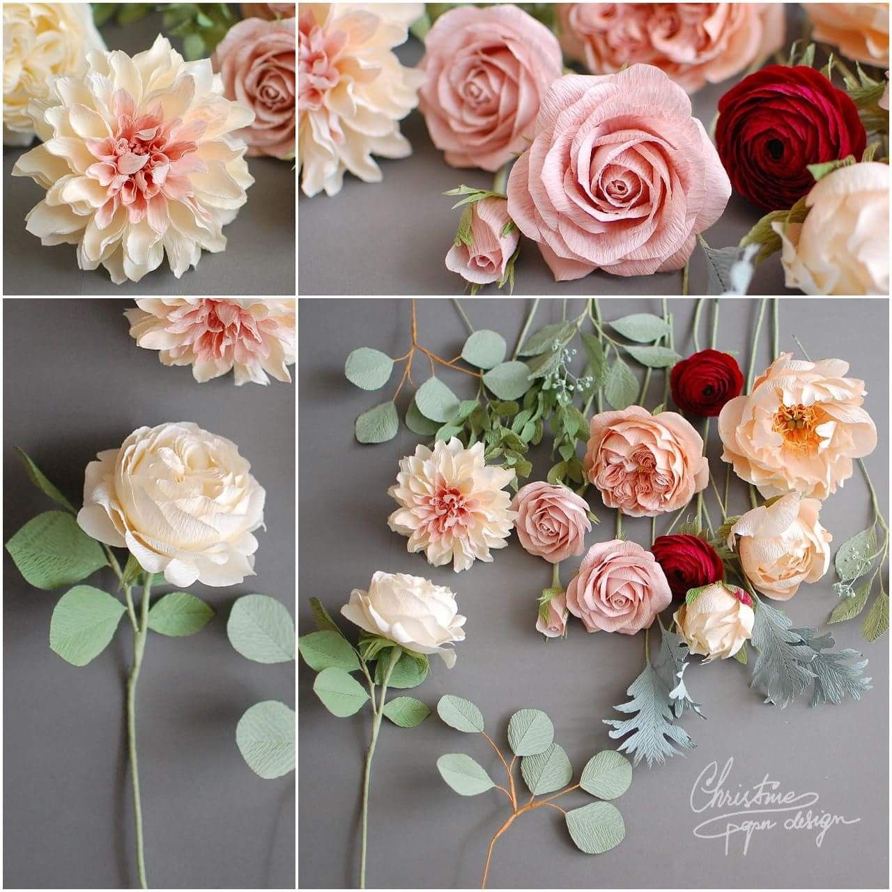 Pin By On Paper Flowers Pinterest Paper Flowers Flower And