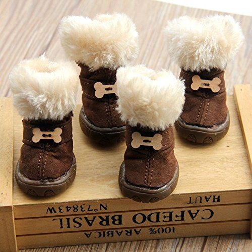 Cute Pet Paw Snow Boots for Dogs