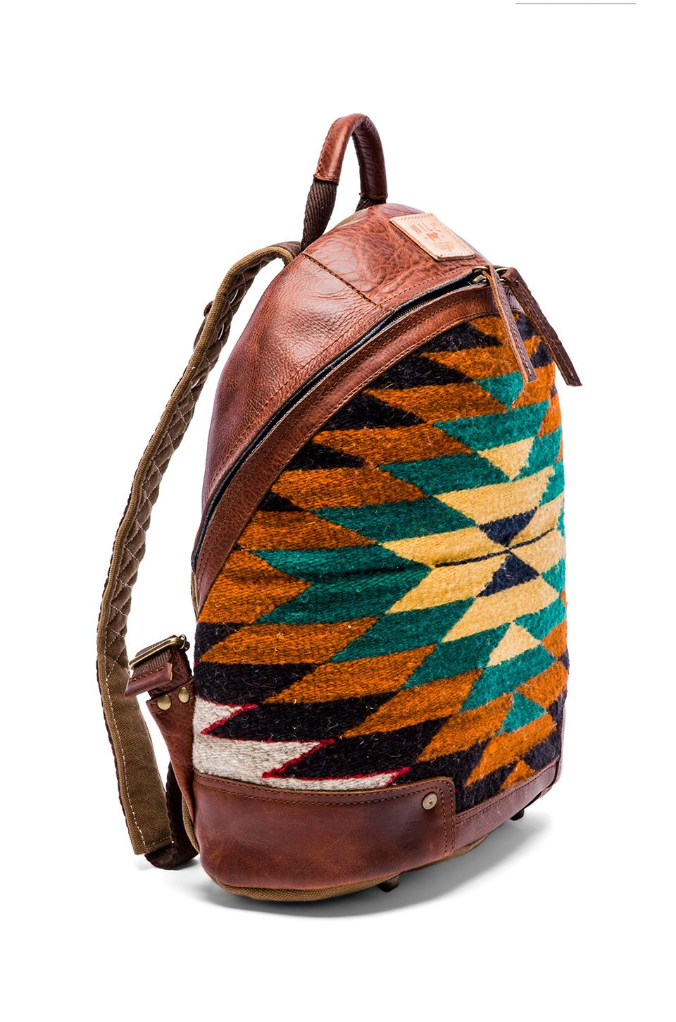 WILL Leather Goods Oaxacan Dome Backpack in Cognac  b5a4a0ff3b1f7