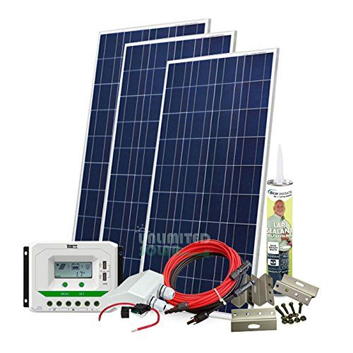 Unlimited Solar 480 Watt 12 Volt Sunroma Rv Solar Panel Kit Continue To The Product At The Image Link Note Solar Panels For Home Rv Solar Panels Rv Solar