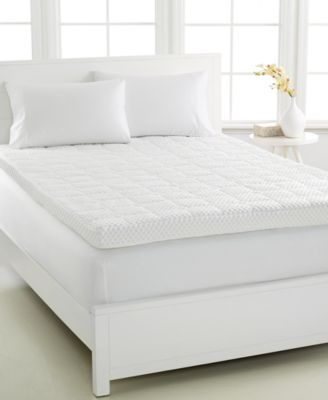 Last Act Dream Science 4 Memory Foam Mattress Toppers Venttech Ventilated Foam By Martha Stewart Coll Mattress Topper Memory Foam Mattress Topper Mattress