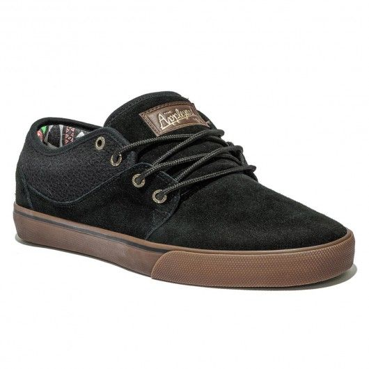 GLOBE Mahalo black tobacco gum chaussures de skate Mark Appleyard 69